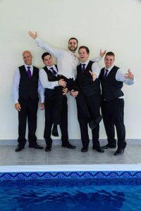 Banquet Groom's men