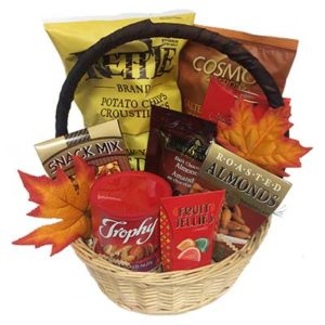 Autumn Snacks Gift Basket