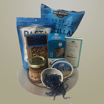 Blue Gift Tray