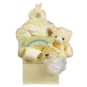 Neutral Baby Basket