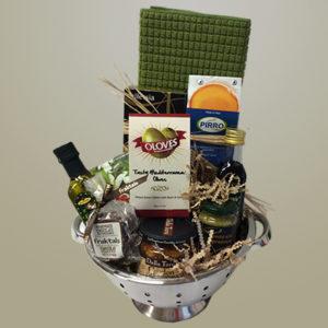 Kitchen Colander Gift Basket