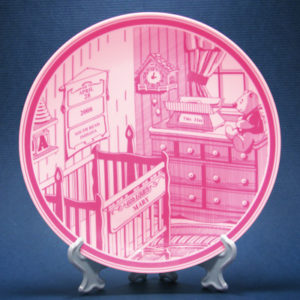 Keepsake Baby Plate Pink
