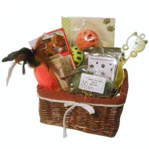 Welcome Kitty Gift Basket